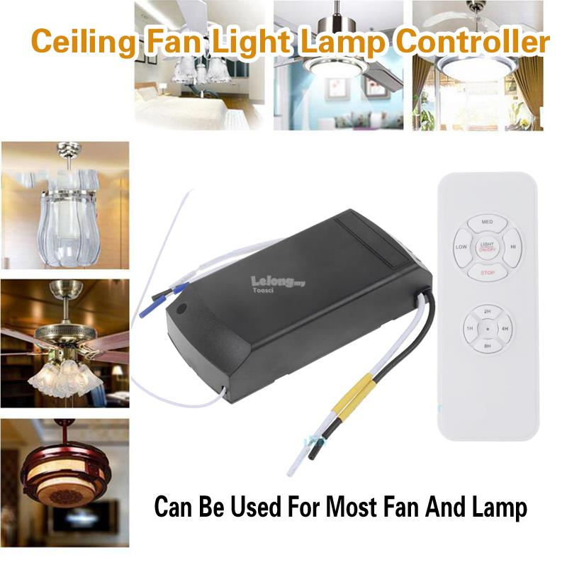 Ceiling fan light lamp controller wi end 2262019 415 pm ceiling fan light lamp controller wireless remote receiver kit aloadofball Choice Image