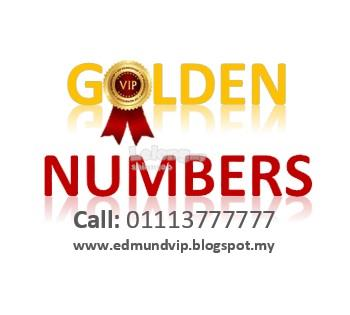 CELCOM, DIGI & MAXIS SUPER GOLDEN VIP NUMBER! 010 & 017 here!!