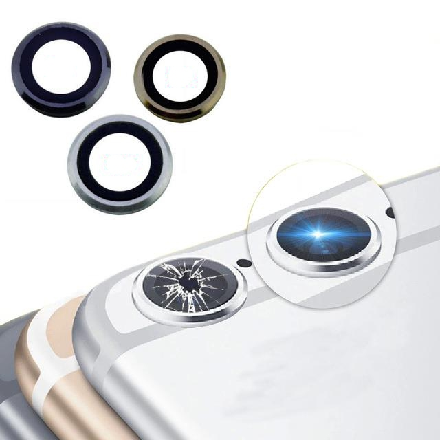 premium selection 03a5f 414b4 CellCare Iphone 6 Camera Lens Frame Cover ( Silver )