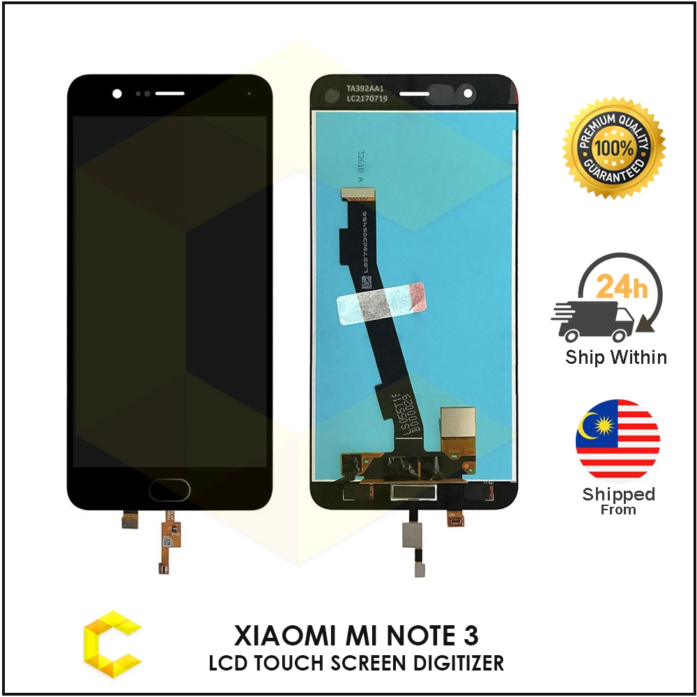 CellCare XIAOMI MI NOTE 3 LCD TOUCH SCREEN DIGITIZER REPLACEMENT PART