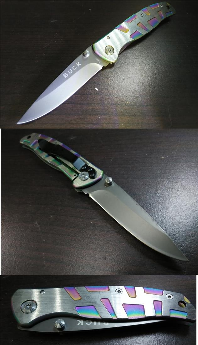 CELLY BUCK Flip knife with Clip  [KN 049]