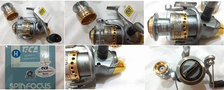 CELLY ECA SpinFocus GT2500 Reel free Extra spool