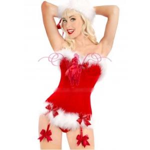 Sexy santa corset
