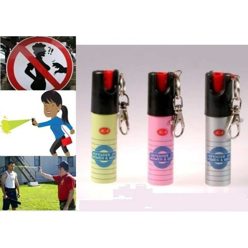 **CELLY**  Pepper Spray with Key Chain