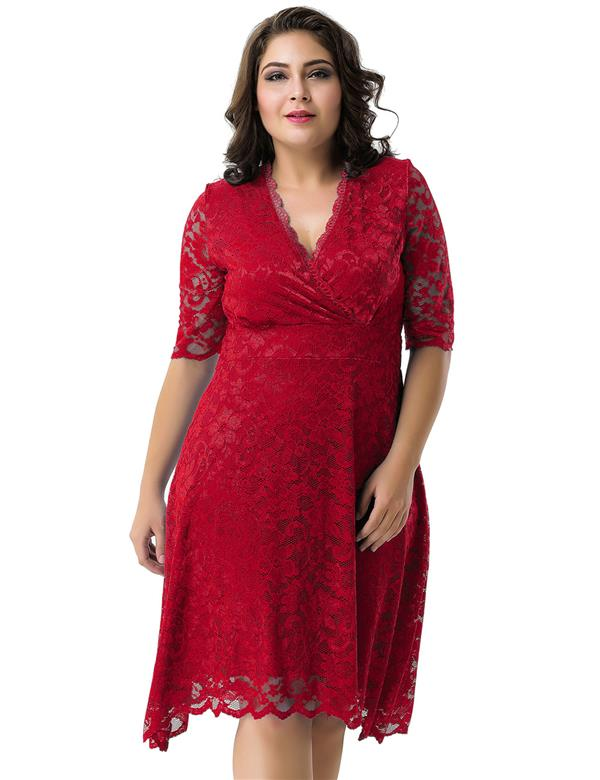 CELLY Plus Size Dress (CSOH R80329-3P)