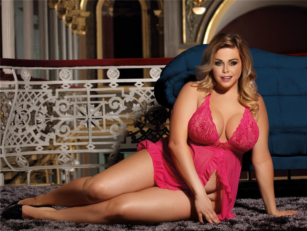 7db339a3a65 CELLY Plus Size Pink Sheer Mesh Baby (end 5 30 2019 9 12 PM)