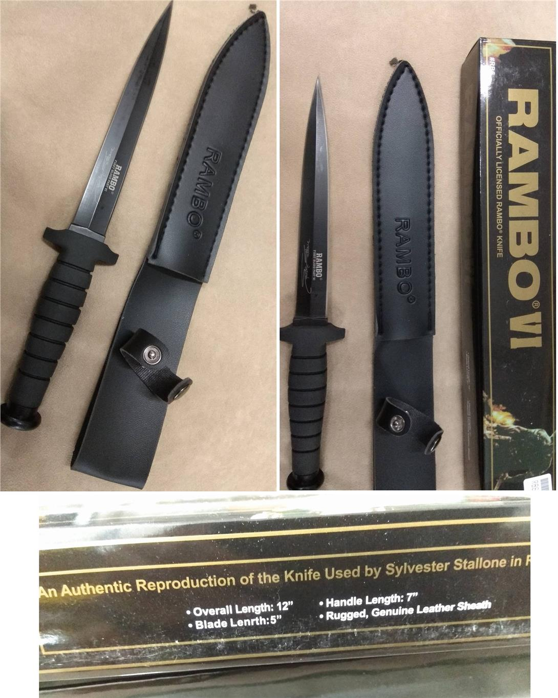 CELLY Sylvester Stallone Rambo Knife (35cm) (KN 035)