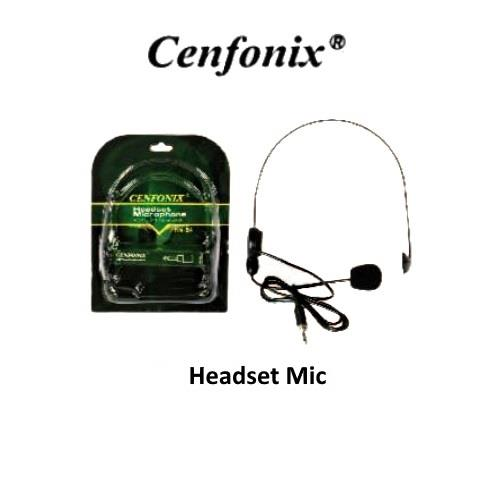 CENFONIX HM24 Headset Microphone with 3.5' Phone Jack