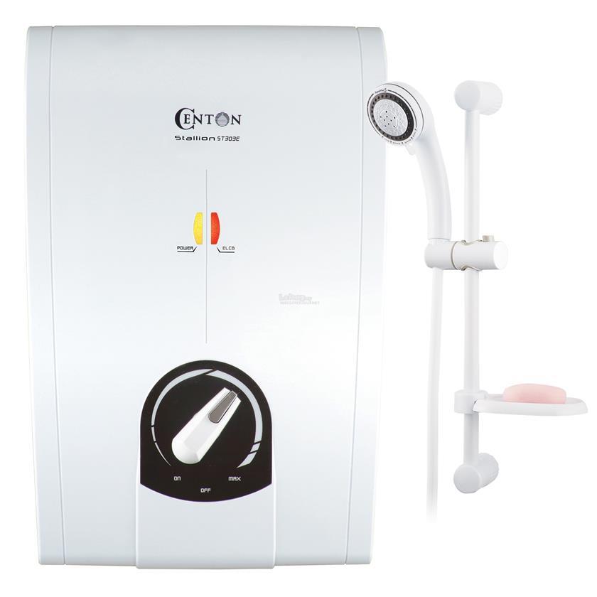 CENTON Instant Shower Water Heater - Stallion Series (no pump)