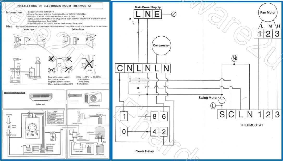 central air-con electro-mechanical room thermostats (wkj-01)