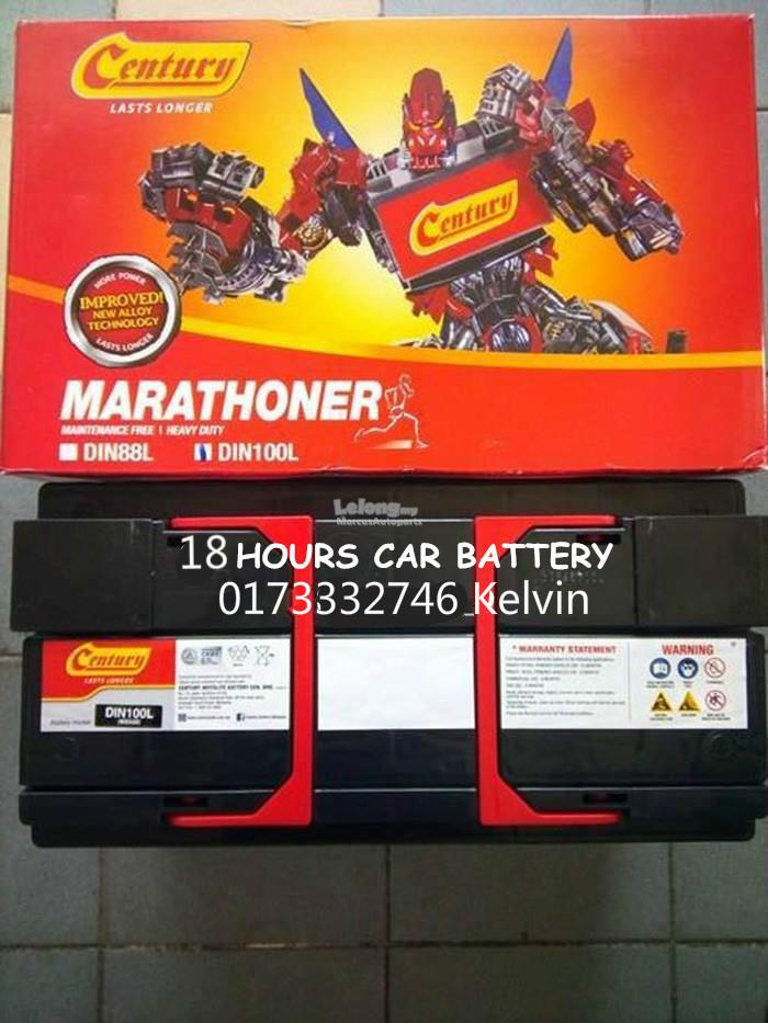 CENTURY MARATHONER DIN100 CAR BATTERY