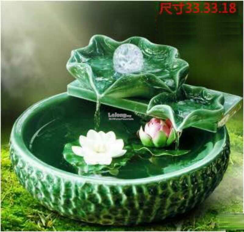Ceramic made indoor feng shui tablet end 9 15 2018 1 37 pm for Indoor water fountain design malaysia