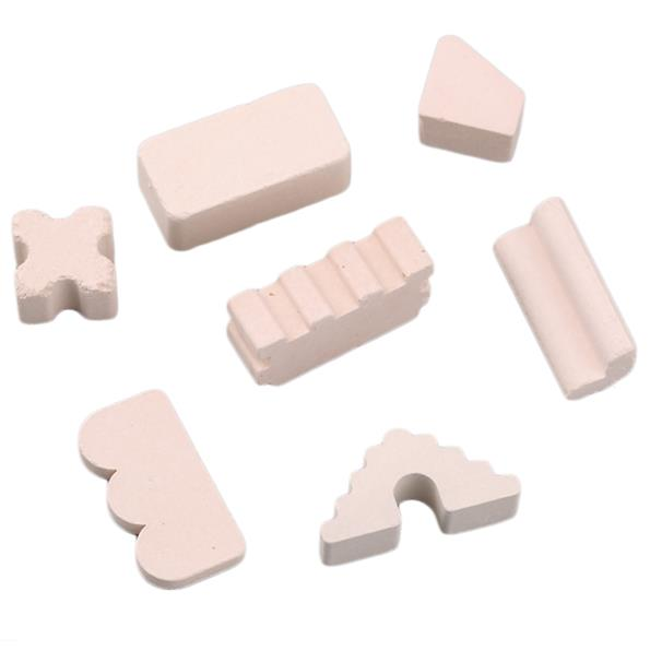 Ceramics Construction Building Blocks Bricks Children's Toys Pieces Gi