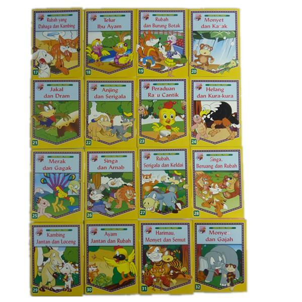 Cerita Fabel Poket 16 Books Per Set End 1 22 2019 10 52 Pm
