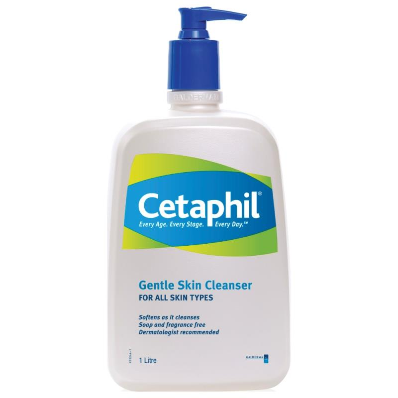 Cetaphil Gentle Skin Cleanser 1000ml for Sensitive Skin