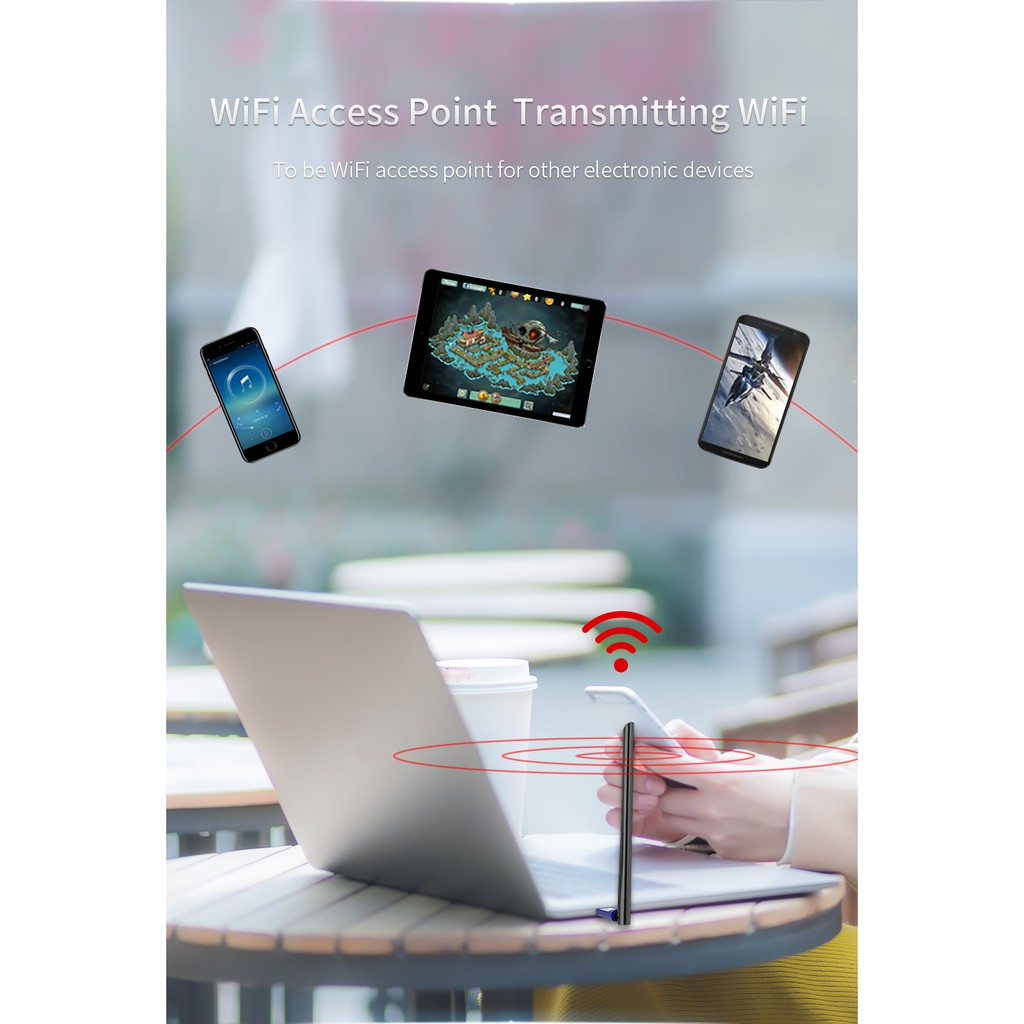 Cf-759bf 5g Wifi Adapter 802.11b/g/n/ac 650m Pc WIRELESS Wifi Network