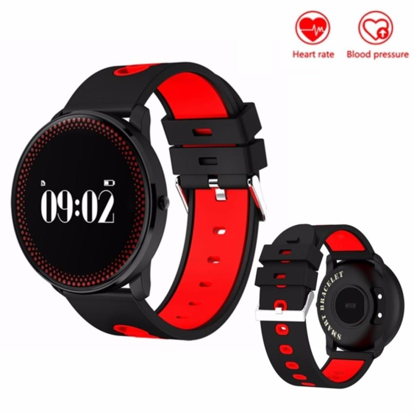 on remote fitness watch blood monitor kaload watches pressure smart pedometer rate heart camera deals shopping tracker shop summer plus