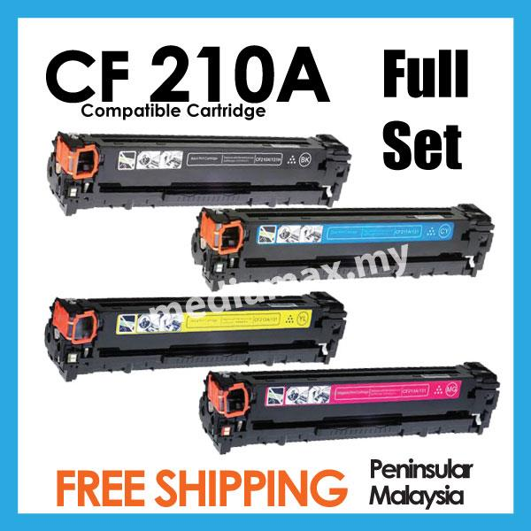 CF210A/CF211A/CF212A/CF2132A 131A Compatible HP Pro 200 M251 Color 251