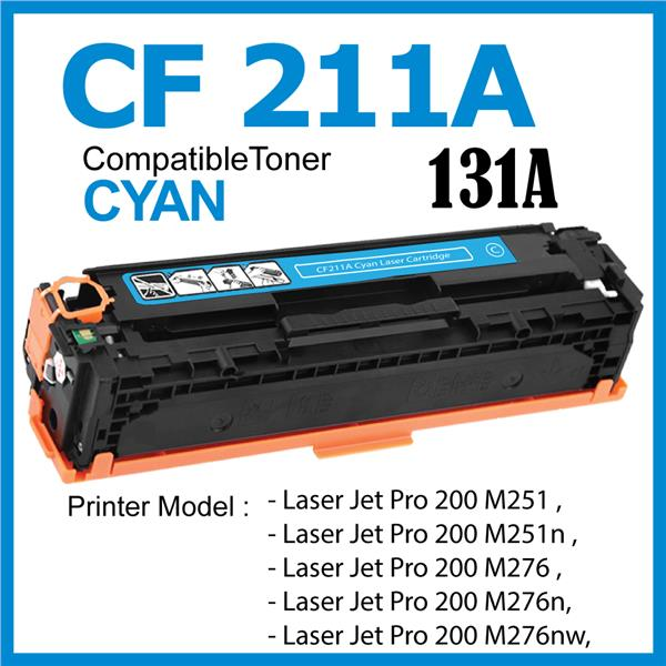 CF211A/131A Color Compatible-HP Pro 200 M251 M276 M276n M276nw MFP 131