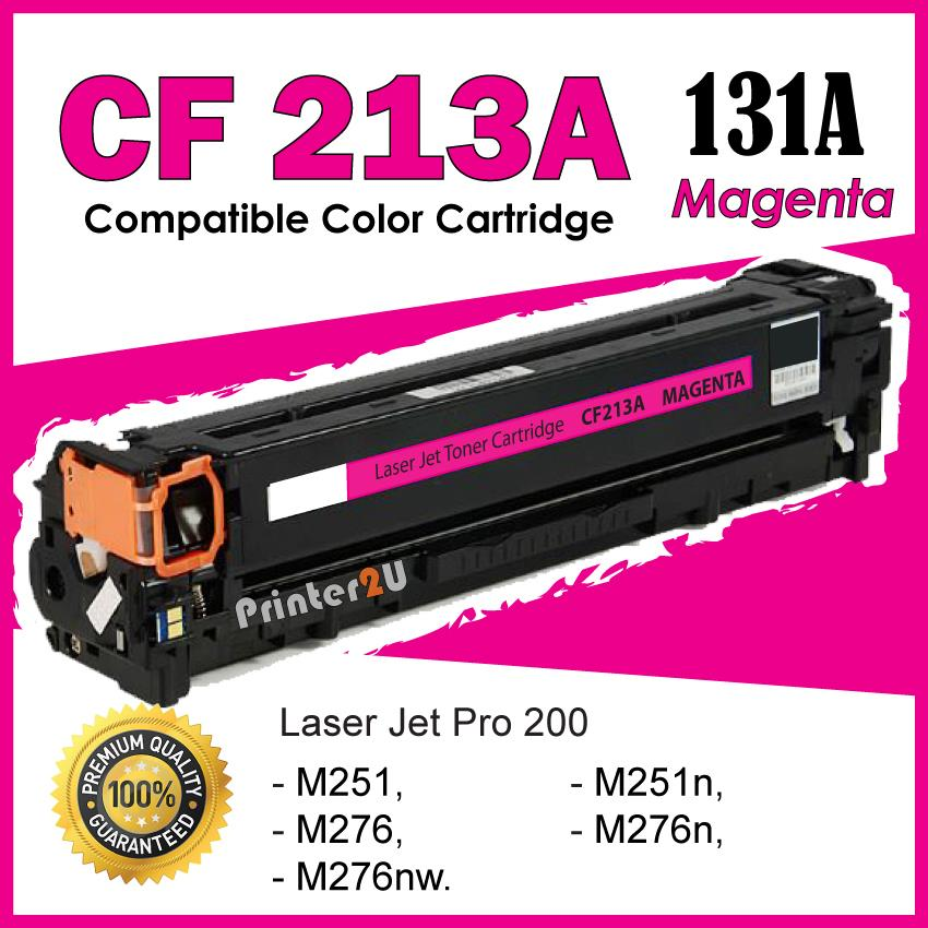 CF213A/CF213/131A Magenta Compatible-HP Pro 200 Color M 276 276n 276nw