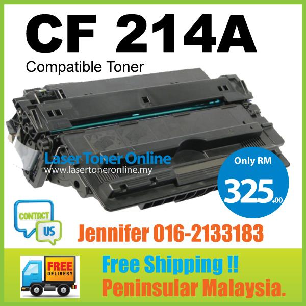 CF214A Compatible HP LaserJet  Enterprise 700 Printer MFP M712n M725dn