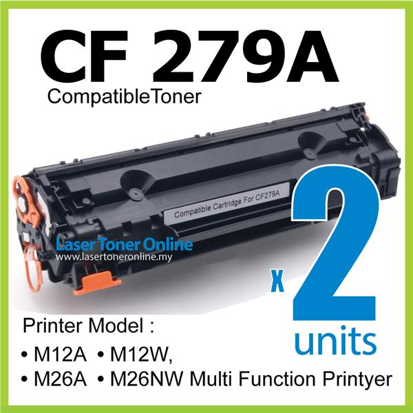 CF279A 79A CF 279a Compatible HP Pro M12a M12w M26a M26w M26nw Laser