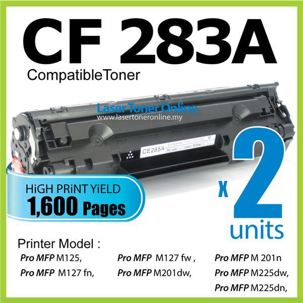 CF283A/83A 283A Compatible HP LaserJet Pro MFP M125 M127 M127fn M201n
