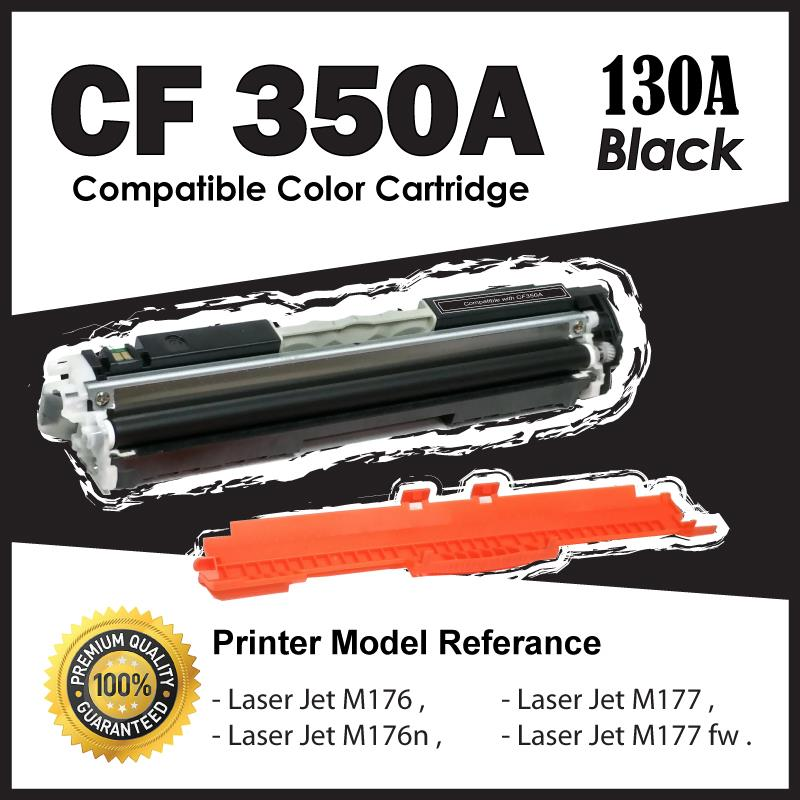 CF350A/130A Black B Color Compatible-HP Pro M176 M176n M177 M177FW MFP