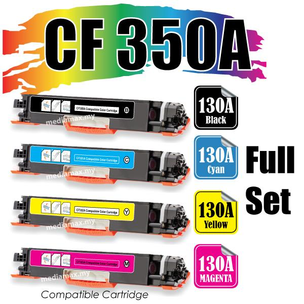 CF350A CF 350A 130A Compatible@HP Pro M 176 176n 177 177FW Color Set