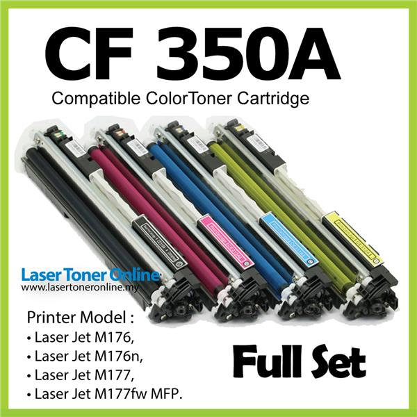MY CF350A/CF 350A/350/130A Compatible-HP Pro M 176 176n 177 177FW Full