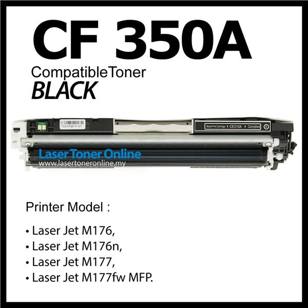 CF350A CF351A CF352A CF353A Compatible HP Laser Black+Color M176 M177