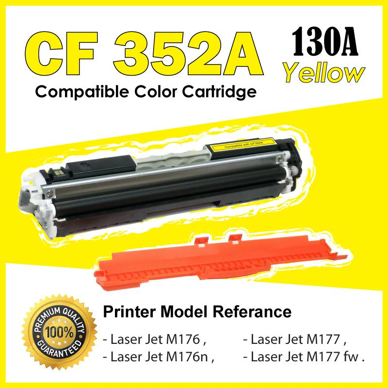 CF352A/130A Yellow Color Compatible-HP Pro M176 M176n M177 M177FW MFP