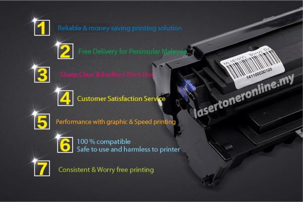 CF360A/CF361A/CF362A/CF363A Compatible HP Color LaserJet Black Toner