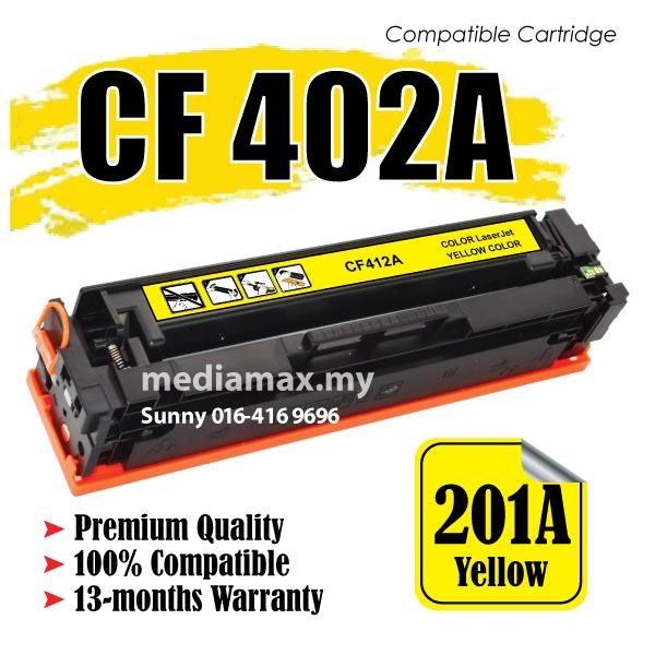 CF402A 201A Compatible HP Color LaserJet Pro MFP M277dw M277N Yellow