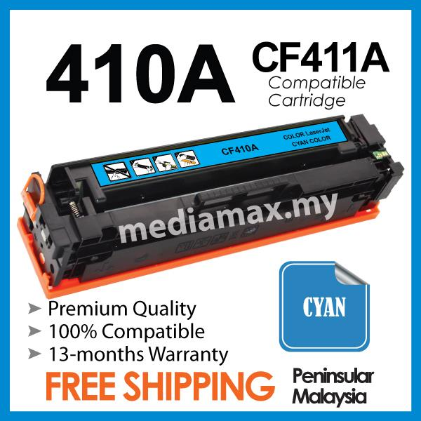 CF411A 410A Compatible HP LaserJet Pro 400 M452/M477 M 452NW/477 Color