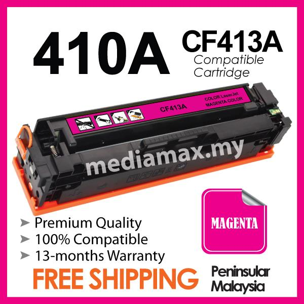 CF413A 410A Compatible HP LaserJet Pro 400 M452/M477 M 452NW/477 Color