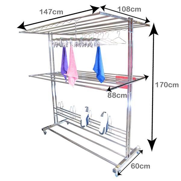 rack laundry