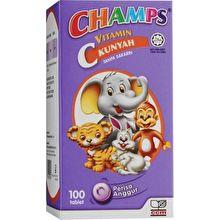 Champs Vitamin C 30mg Blackcurrant Flavour (100's)