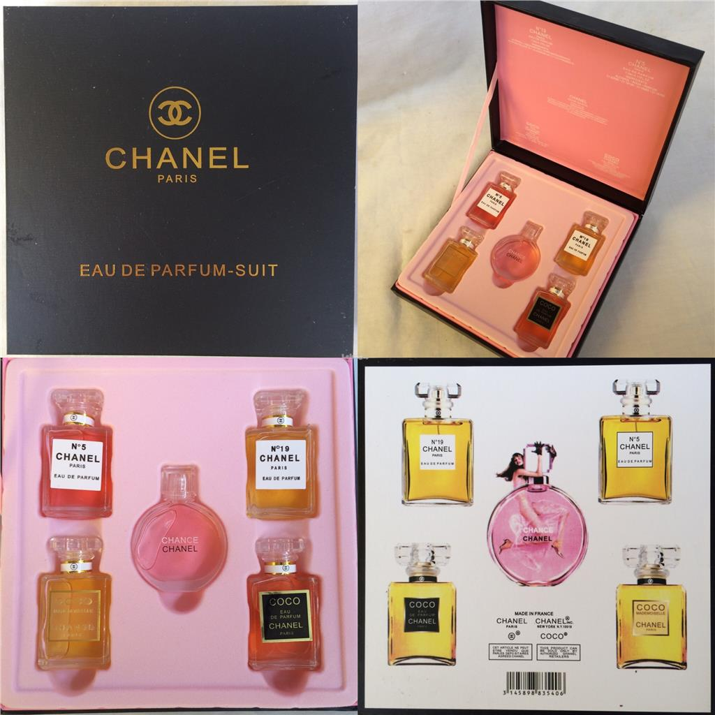 Chanel Perfume 5 In 1 Premium Gift S End 452018 1115 Pm