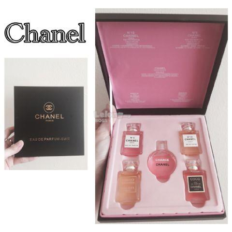 2345afd1 Chanel Perfume 5 in 1 Premium Gift Set Miniature Chance Chanel Perfume