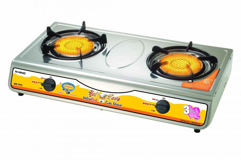 [Charm Of Charcoal] Khind Infrared Hot Lava Gas Stove IGS1515
