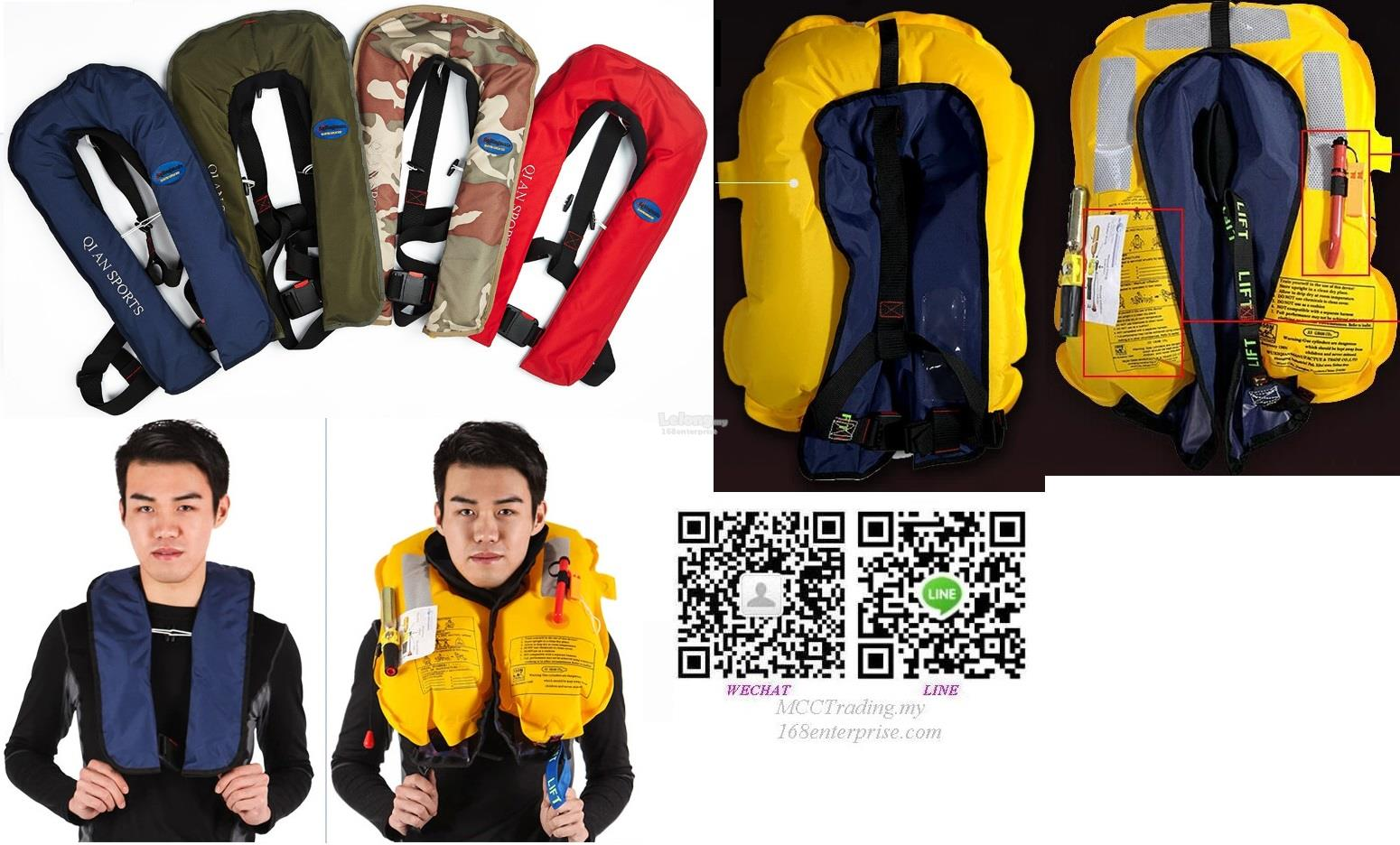 Best Cheap Good Quality Single Inflatable Life Jacket Lowest Price