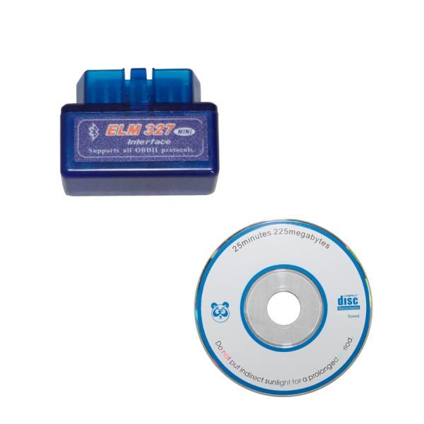 Cheapest ELM327 V1.5 Mini Bluetooth ELM 327 OBD2 Auto Diagnostic