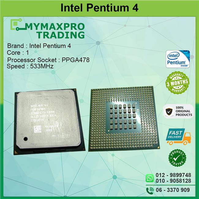 **Cheapest** Pentium 4  2.6Ghz Socket 478 **Hyper Threading**