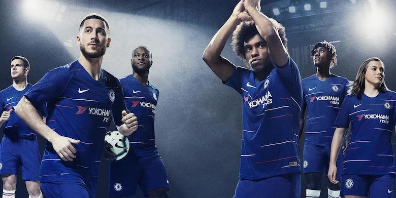 eaea1a5fac0 ChelseaFC Home Jersey 2018 2019 Sho (end 9 25 2019 10 15 PM)