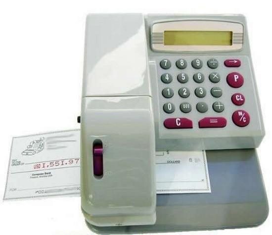 CHEQUE WRITER /CHECKWRITER  IMPORT UK HIGHSPEC **8 YEARS WARRANTY !!