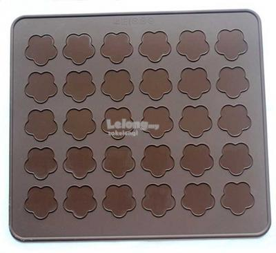 Cherry Blossom Macaron Silicone Mat Baking Sheet