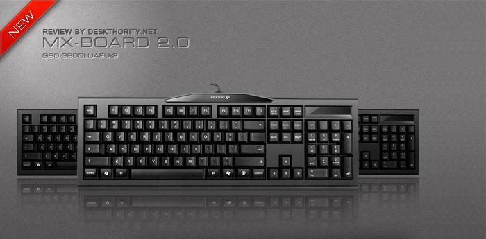 # CHERRY MX-BOARD 2.0 MECHANICAL KEYBOARD # CHERRY MX RED/BLUE/BROWN