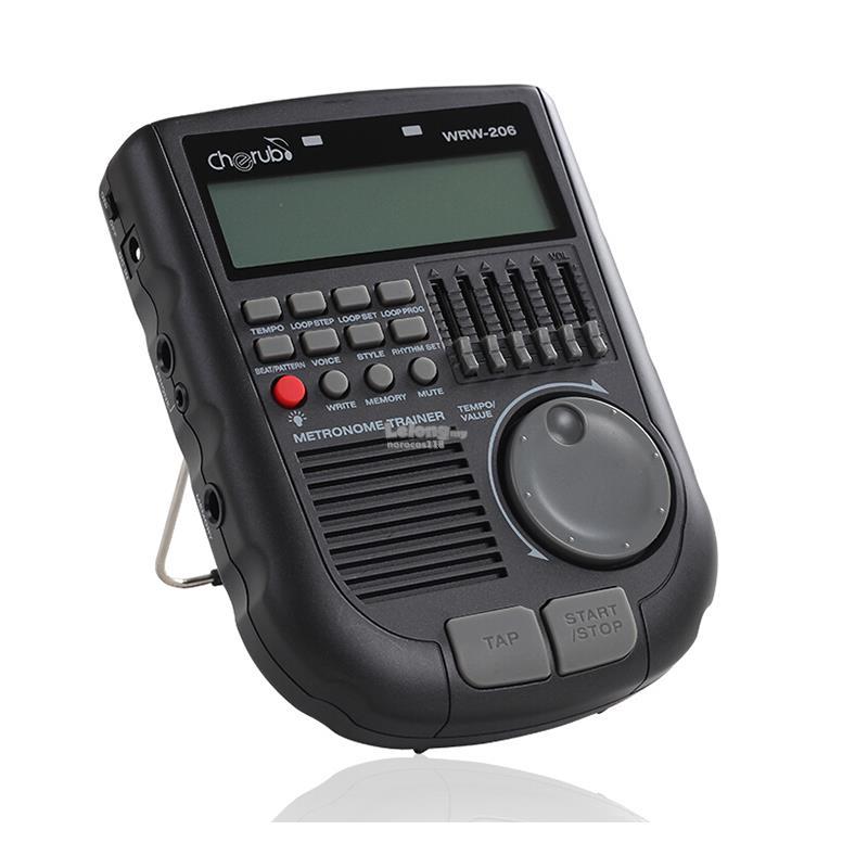 Cherub WRW-206 Drummer Metronome With Loop Function for Drum Rhythm Pr