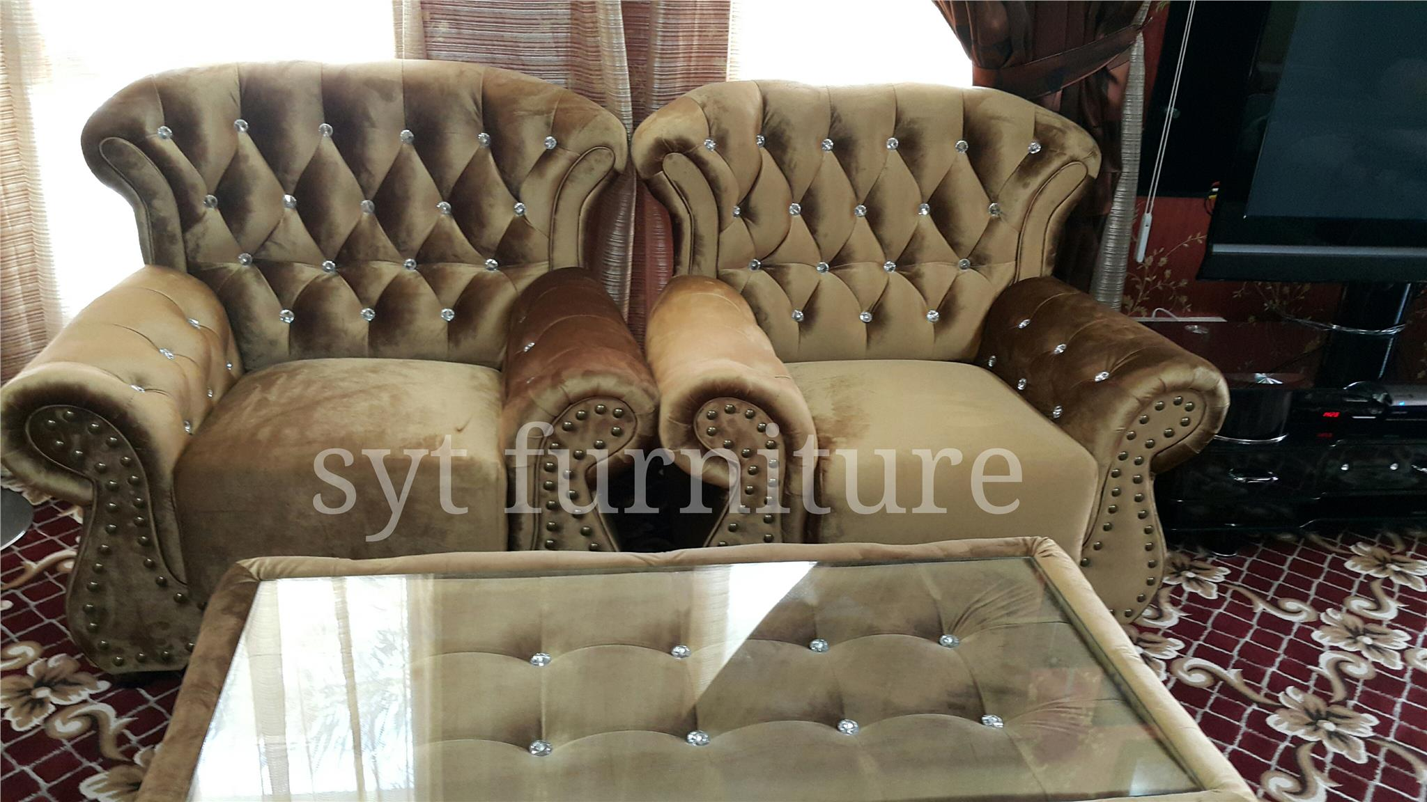 chesterfield sofa 1 2 3seater velve end 6 10 2016 11 29 AM